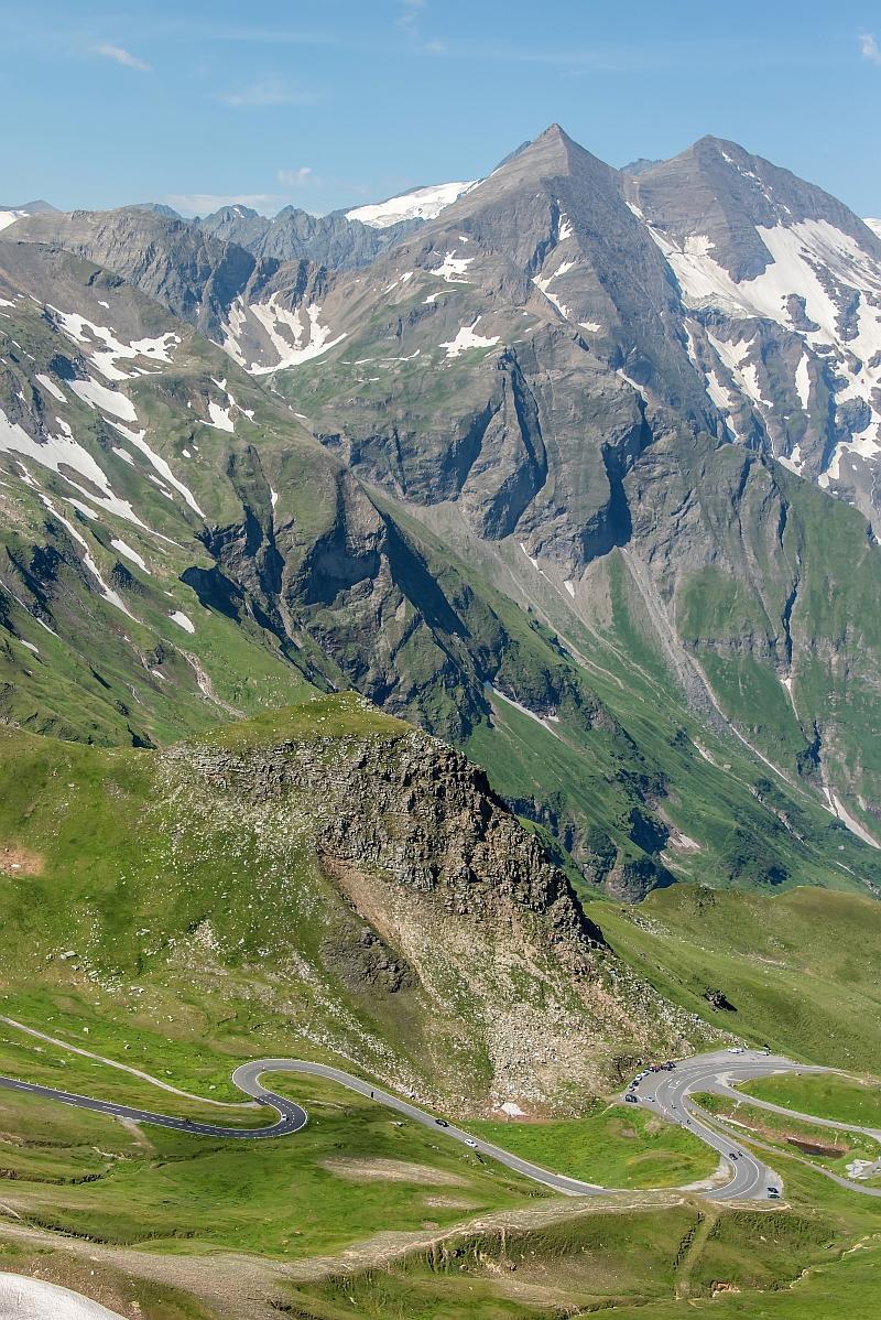 The legendary Grossglockner Road